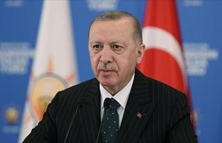 Cumhurbaşkanı Erdoğan'dan millete güç ve...