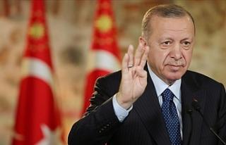 Cumhurbaşkanı Erdoğan:Ülkemizin huzurunu kaçırmaya...
