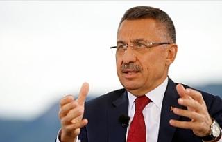 Cumhurbaşkanı Yardımcısı Oktay: Kıbrıs'ta...