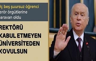 Devlet Bahçeli: Boğaziçi'nde Türkiye'nin...