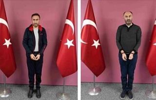 Firari FETÖ mensupları Gürbüz Sevilay ve Tamer...