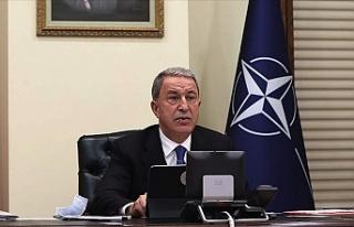 Hulusi Akar NATO Savunma Bakanları Toplantısı'na...