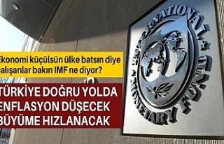 IMF Türkiye Masası: Politika değişikliği enflasyonu...