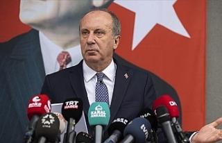 Muharrem İnce, CHP üyeliğinden istifa edeceğini...