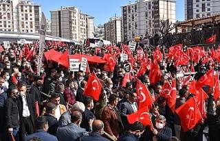 Şırnak'ta Gara şehitleri için PKK'ya...