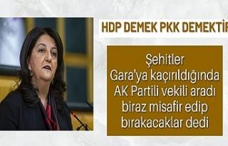 Süleyman Soylu: Pervin Buldan, biraz misafir edip...