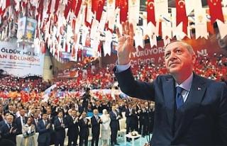 AK Parti kongresinde Erbakan Hoca'nın geleneği...