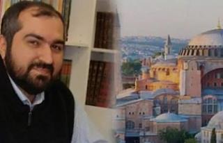 Ayasofya Camii İmamı yaptığı paylaşımla laikçileri...