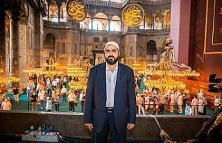 Bülent Turan'dan Ayasofya Camii Baş İmamı...