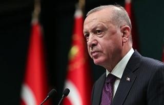 Cumhurbaşkanı Erdoğan: Çarşamba günü 2023'ün...