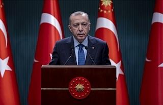 Cumhurbaşkanı Erdoğan: Ramazan ayı boyunca ülke...