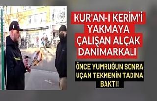 Danimarka'da Kur'an-ı Kerim'e alçak...