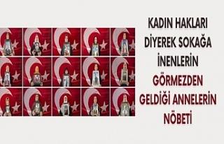 Diyarbakır'daki evlat nöbetine bir aile daha...