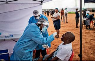 Güney Afrika'daki Koronavirüs Vaka Sayılarında...
