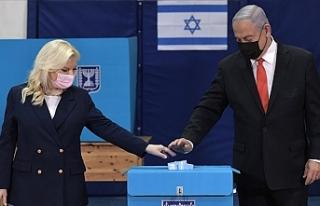 İsrail'deki seçimi Netanyahu'nun partisi önde...