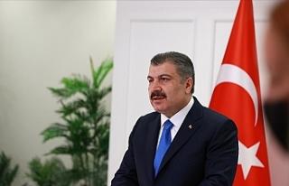 Sağlık Bakanı Koca 100 bin nüfusta Kovid-19 vakası...