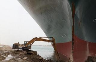 Süveyş Kanalı'nın Tıkanması, Tuvalet Kağıdından...