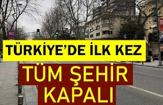Tam kapanma ilk kez Aksaray'da uygulanıyor:...