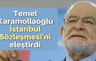 Temel Karamollaoğlu İstanbul Sözleşmesi'ni...