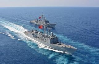 TSK ile ABD ordusu, Doğu Akdeniz'de eğitim...