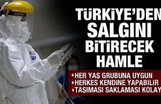 Türkiye'den salgını bitirecek hamle!