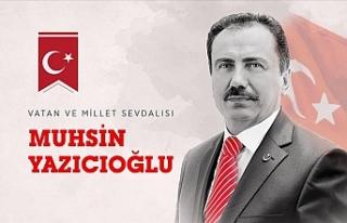 Vatan ve millet sevdalısı Muhsin Yazıcıoğlu vefatının...