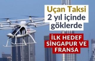 Volocopter, hava taksi hizmetine 2 yıl içinde başlayacak