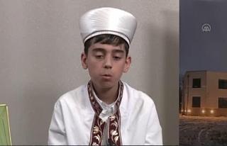 12 yaşındaki Muhammed Talha, Kur'an-ı Kerim'in...