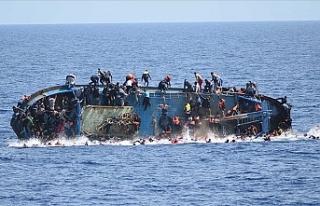 Akdeniz'de tekne faciası! 100'ün üzerinde...