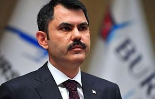 Bakan Kurum'dan Kanal İstanbul açıklaması:...