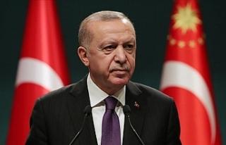 Cumhurbaşkanı Erdoğan: 29 Nisan'dan 17 Mayıs'a...