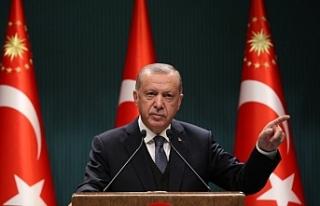 Cumhurbaşkanı Erdoğan: Güney Kıbrıs ve Yunanistan...
