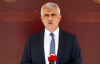 HDP'li Ömer Faruk Gergerlioğlu Ankara'da...