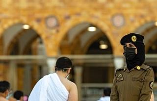 Suudi Arabistan'da bir ilk: Kadın güvenlik...