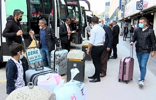 Tam kapanma öncesi İstanbul'dan kaçış başladı