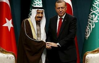 Cumhurbaşkanı Erdoğan Suudi Arabistan Kralı Selman...