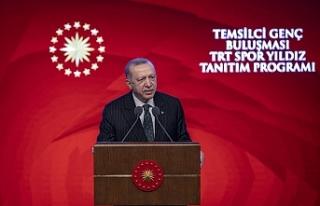 Cumhurbaşkanı Erdoğan: Zulme karşı en yüksek...