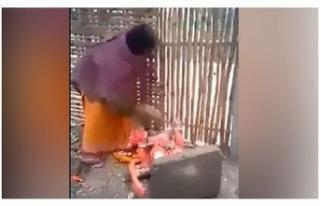 Hindistanlılar kendilerini koruyamayan putları kırmaya...