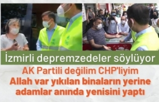 İzmir'de CHP'li vatandaşlar, Murat Kurum'a...