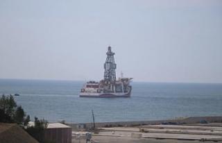 Kanuni Sondaj Gemisi ilk görevi için Karadeniz'e...