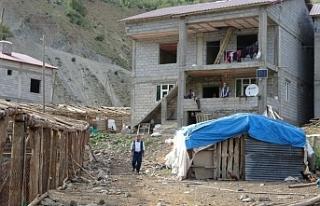 Muş'ta terörden temizlenen köylere dönüş...