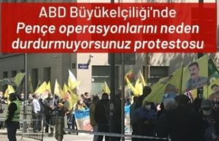 PKK yandaşlarından Brüksel'de gösteri