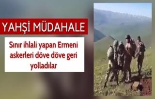 Azerbaycan askerleri, sınır ihlali yapan Ermeni...