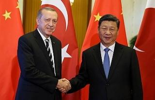 Cumhurbaşkanı Erdoğan ile Çin Devlet Başkanı...