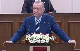KKTC'de tarihi gün: Cumhurbaşkanı Erdoğan...