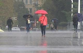 Orta ve Doğu Karadeniz'de yarın kuvvetli yağış...