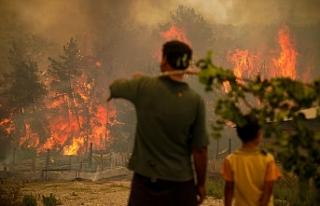 Yangın,sel,deprem gibi doğal afetler ilahi bir ceza...
