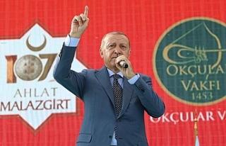 Cumhurbaşkanı Erdoğan: Türkiye yeni bir şahlanış...