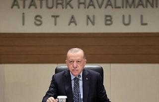 SON DAKİKA: Cumhurbaşkanı Erdoğan açıkladı!...