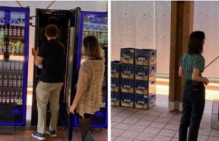 25 yıl sonra bunu da gördük: BELTUR'da alkol...